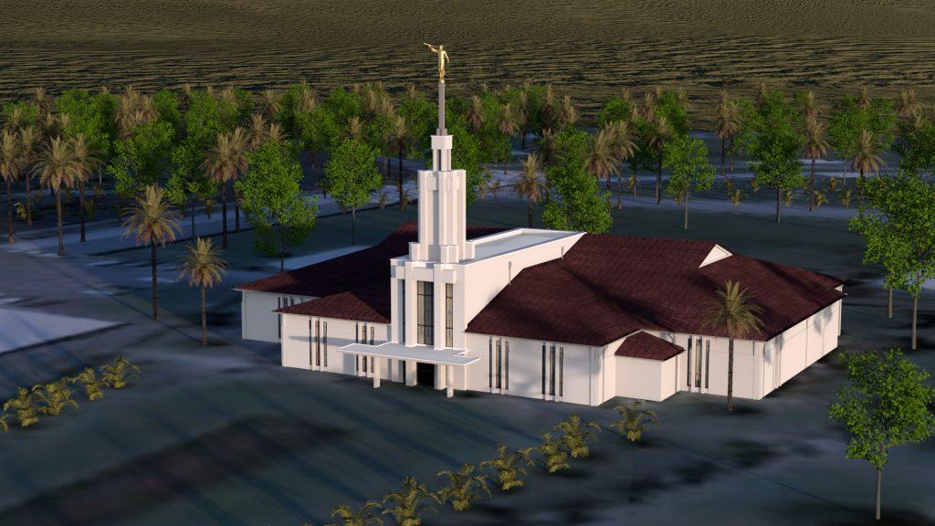 Apia Samoa Temple 1983-2