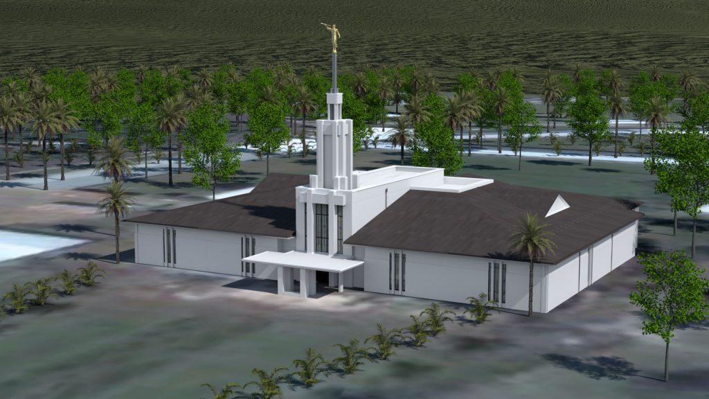 Apia Samoa Temple 2003-2