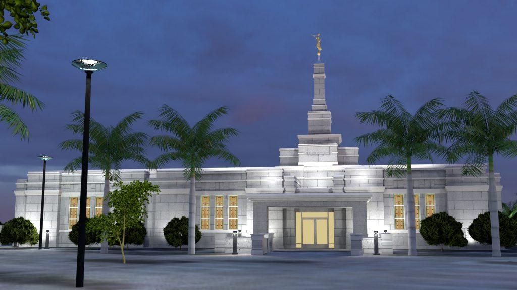 Aba Nigeria Temple Dusk 6