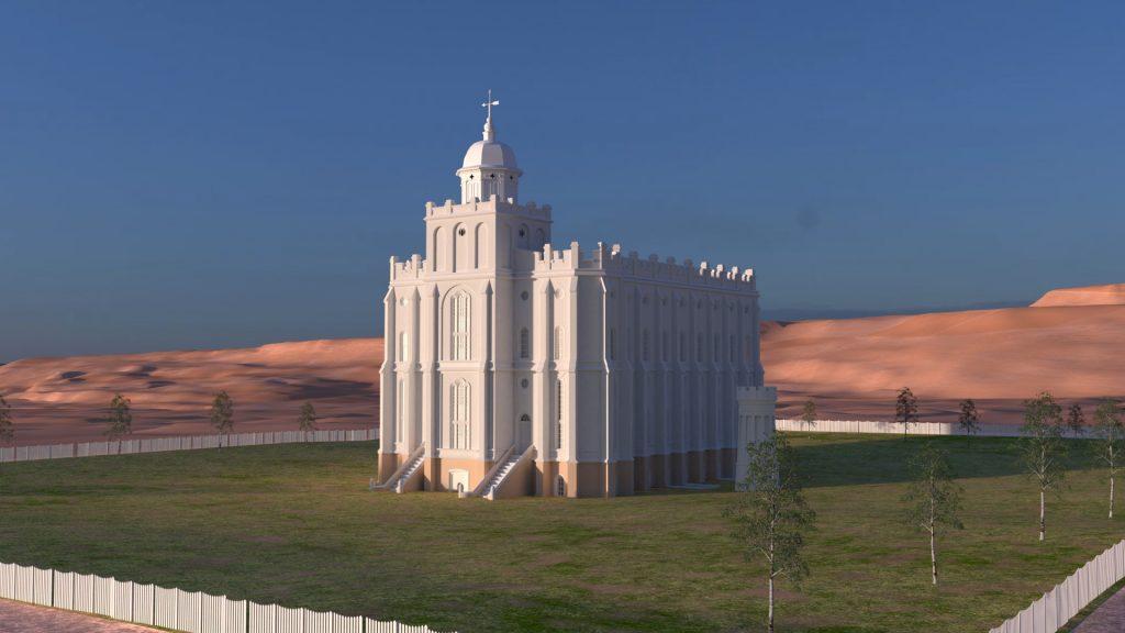 St. George Utah Temple 1877 Thumb