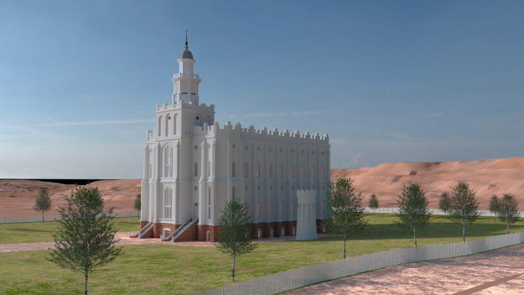 St. George Utah Temple 1883 thumb