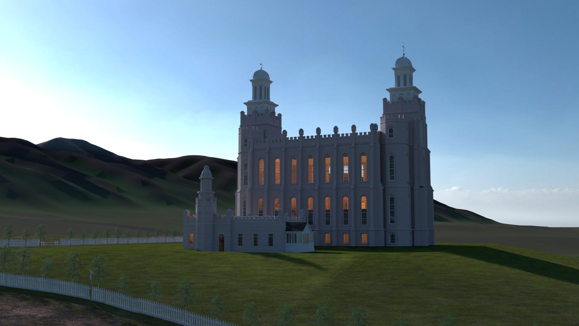 Logan Utah Temple 1885