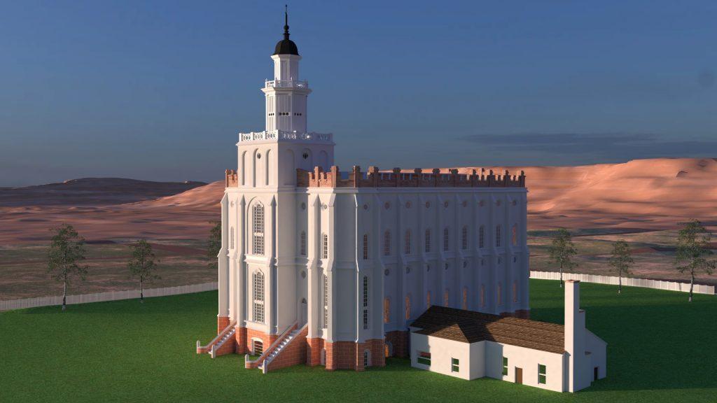 St. George Utah Temple 1920