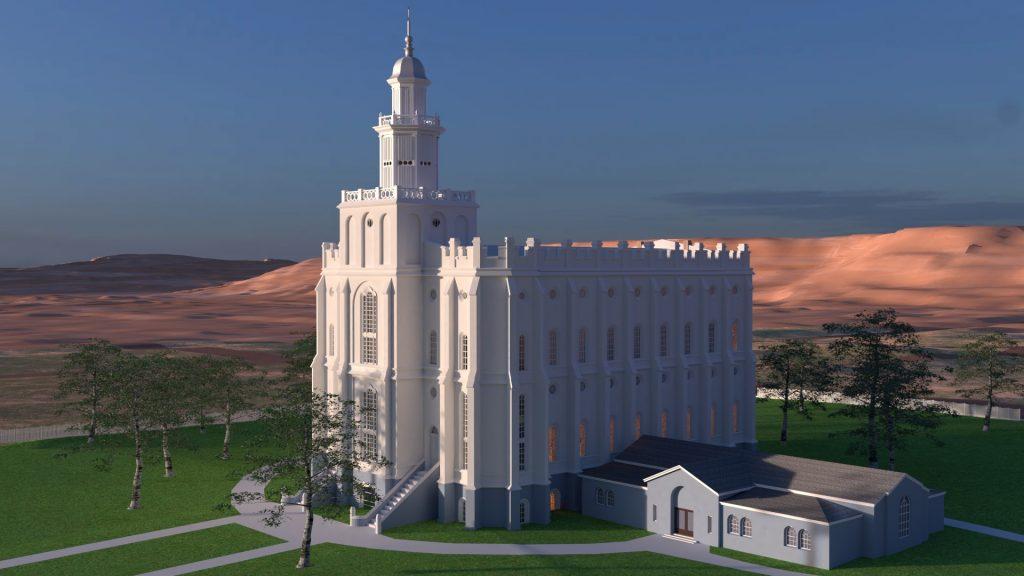 St. George Utah Temple 1937