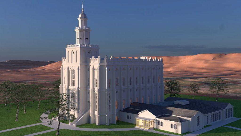 St. George Utah Temple 1950