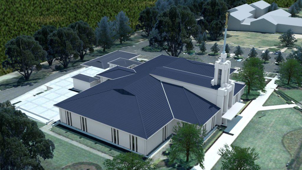 Sydney Australia Temple 1991
