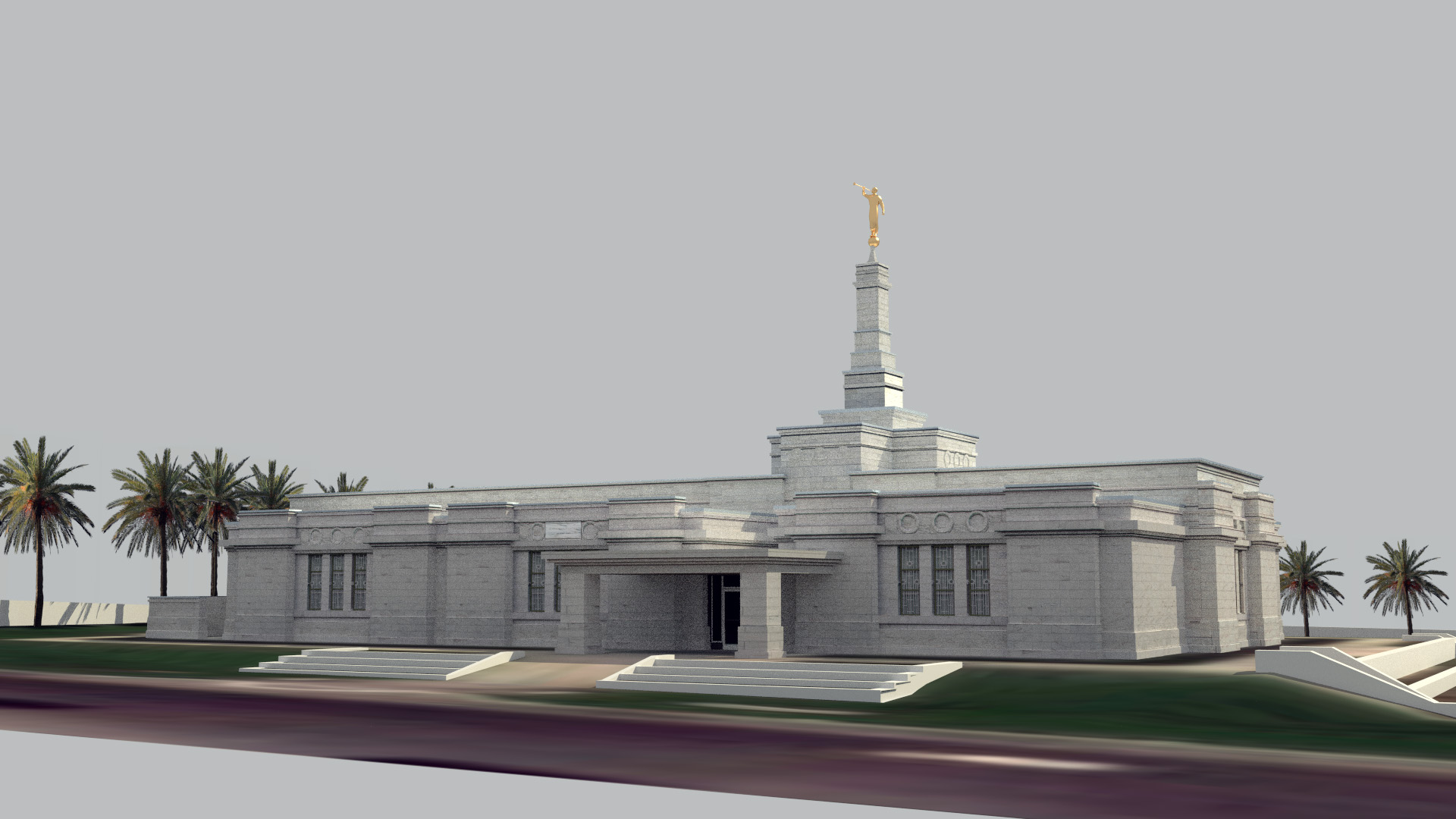 Veracruz Mexico Temple Thumbnail