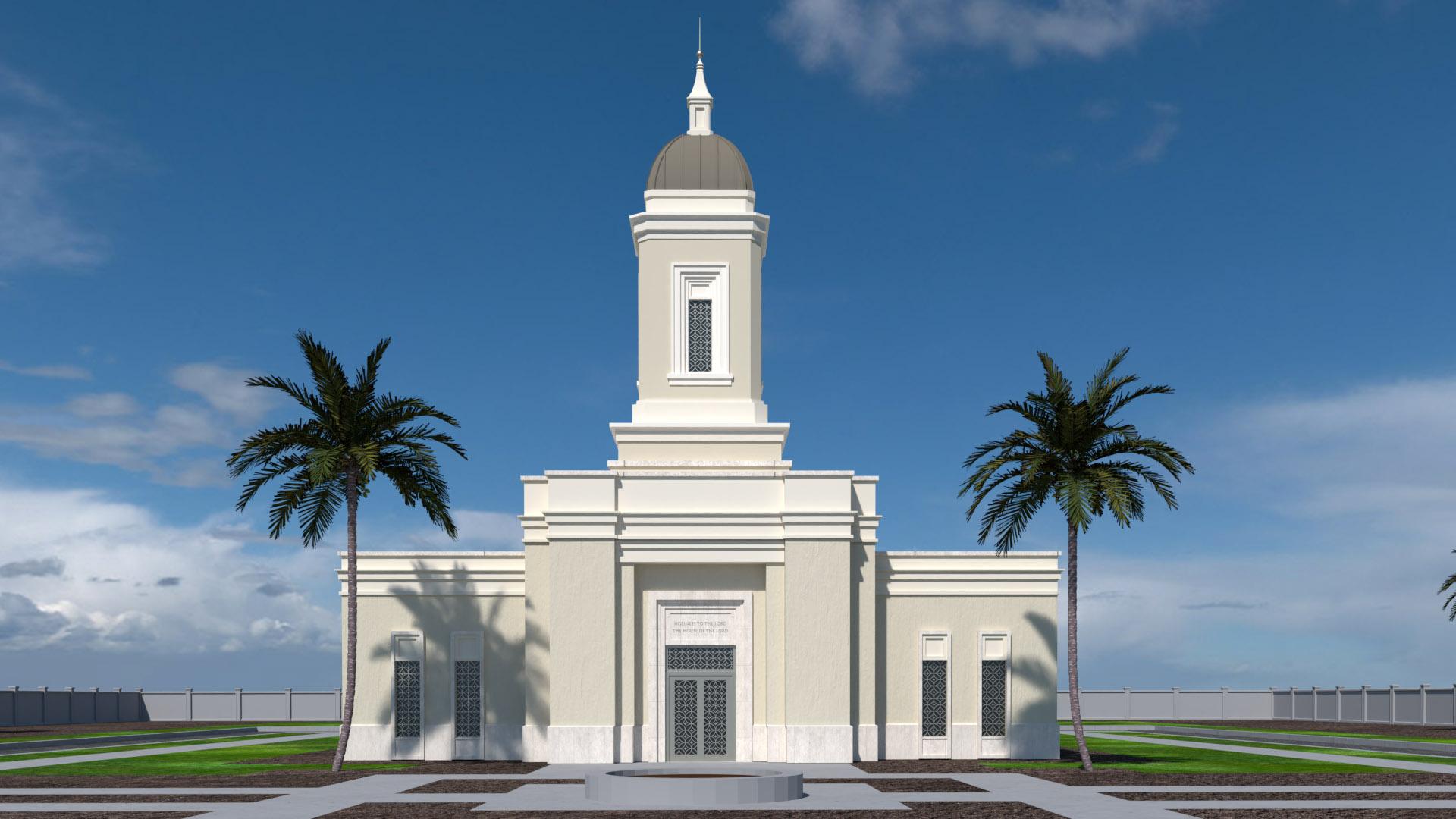 Yigo Guam Temple Thumbnail