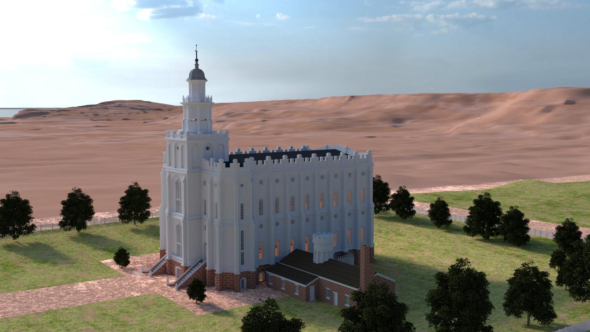 St George Utah Temple 1888
