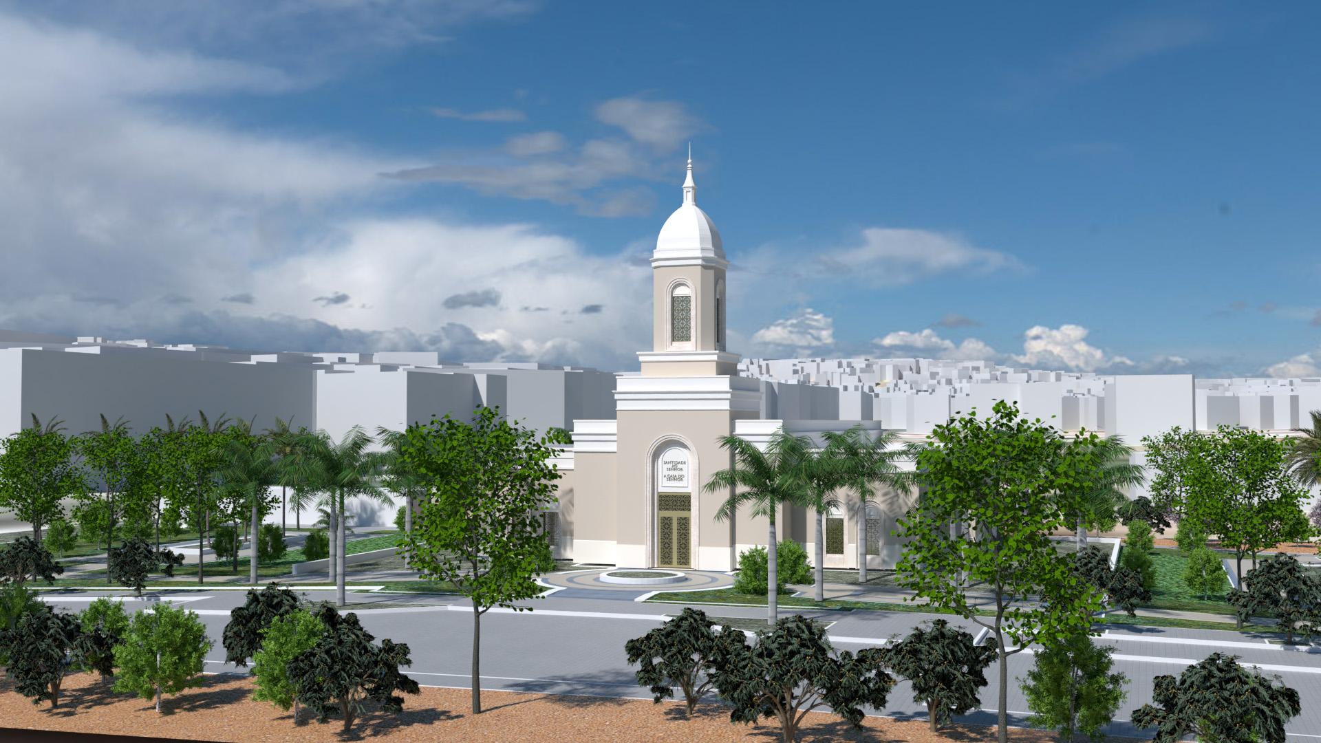 Praia cabo Verde Temple